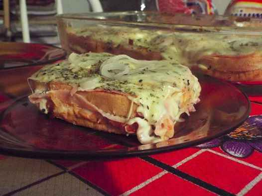 Receita de Lanche Bauru com Pão de Forma Fácil