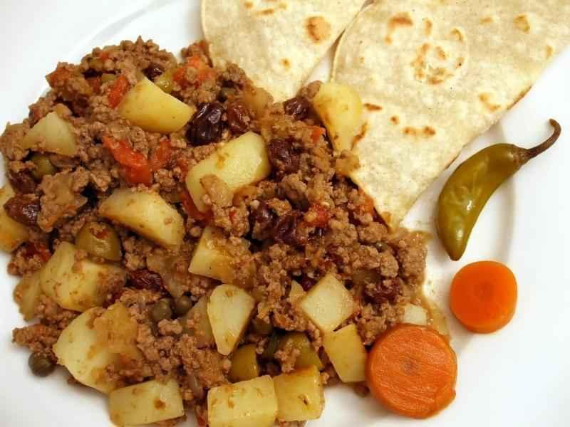 Receita de Picadinho de carne moída com legumes