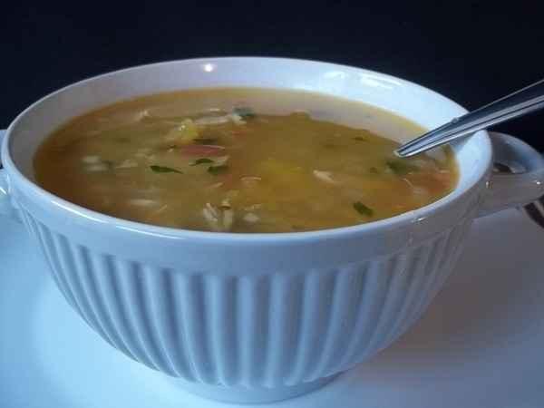 Receita de Sopa de Mandioquinha Caseiro
