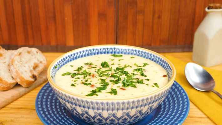 Receita de Sopa de Mandioquinha Diferente