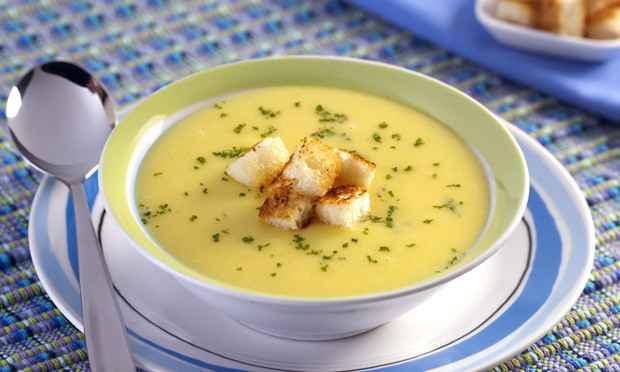 Receita de Sopa de Mandioquinha Fácil