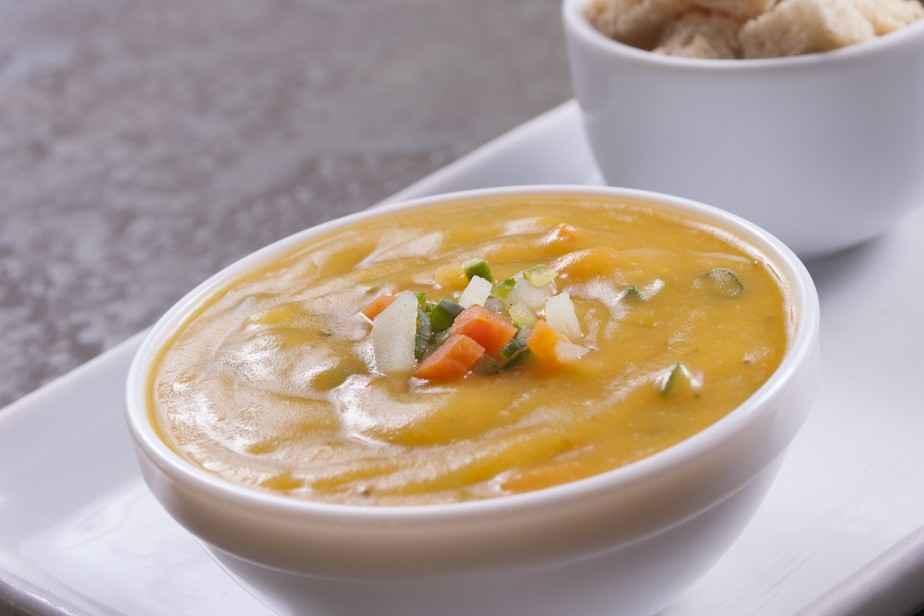 Receita de Sopa de Mandioquinha Original