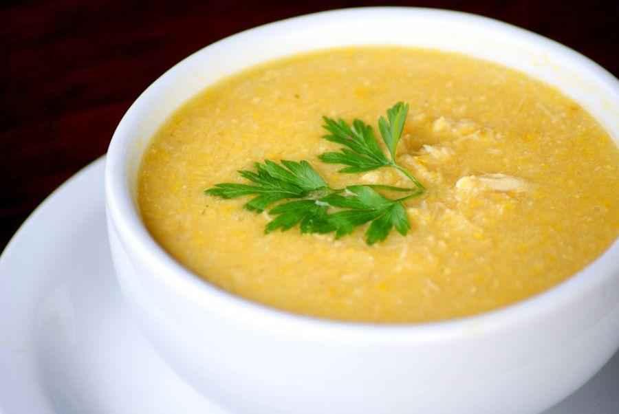 Receita de Sopa de Mandioquinha da Palmirinha