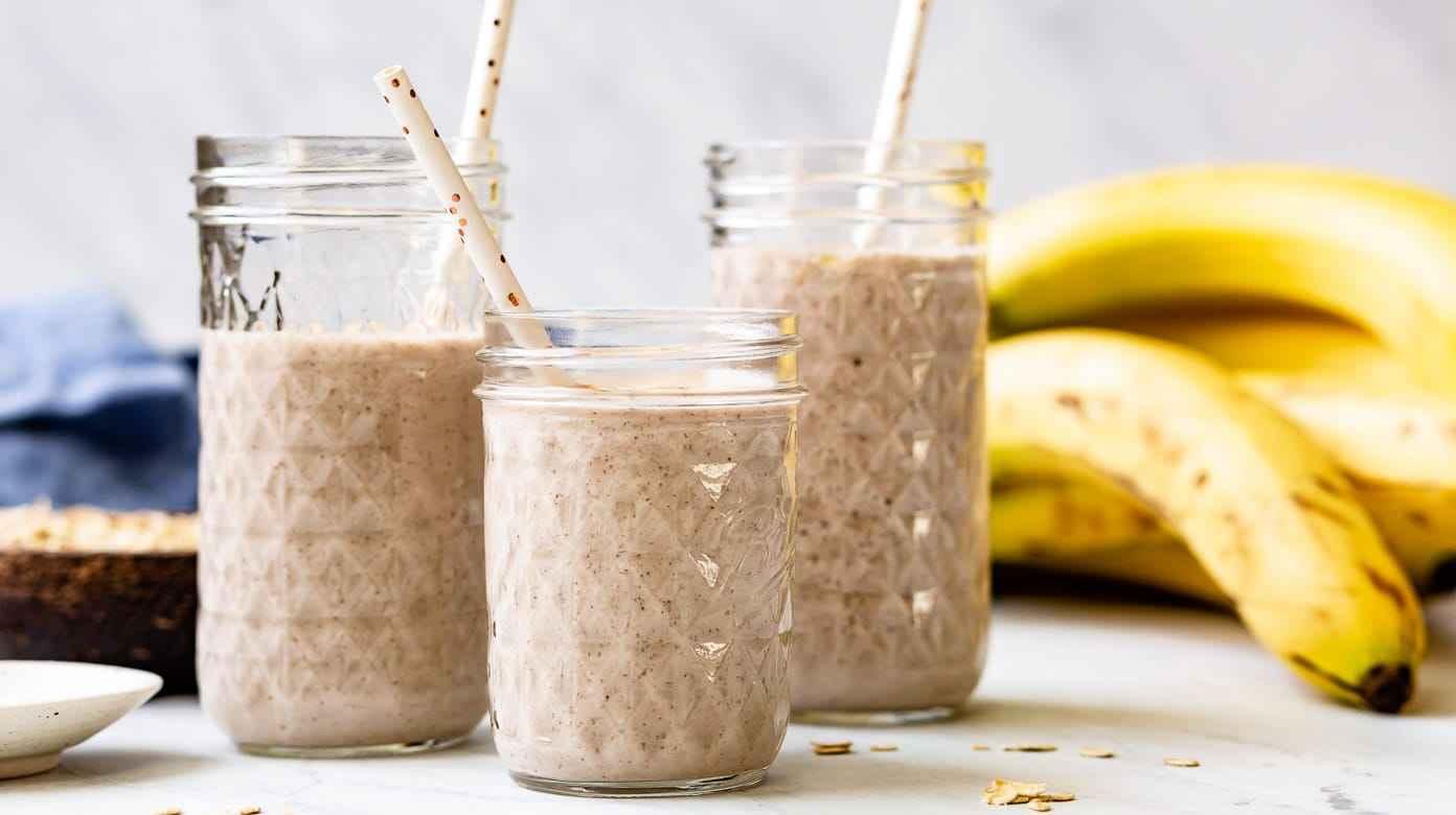 Receita de Vitamina de Banana Rápida