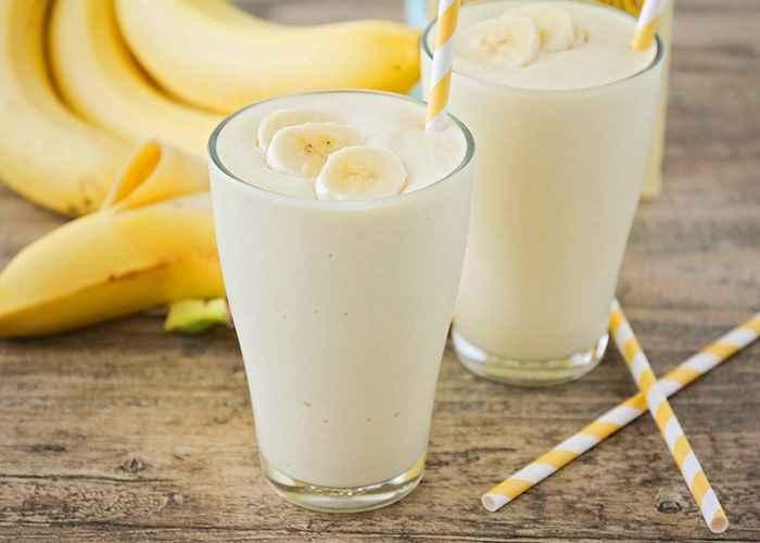 Receita de Vitamina de Banana Simples
