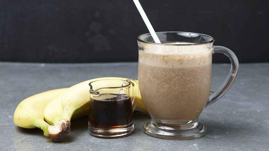 Receita de Vitamina de Banana com Café
