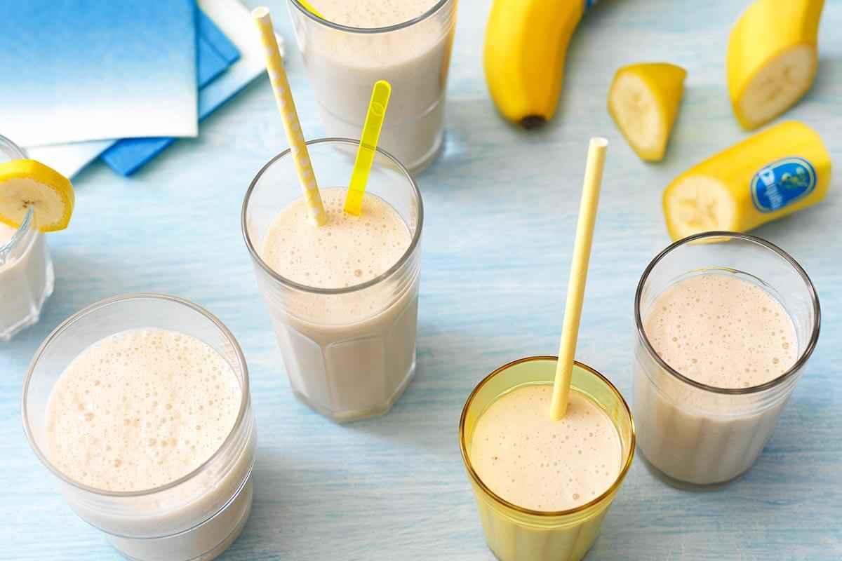 Receita de Vitamina de Banana com Farinha Láctea