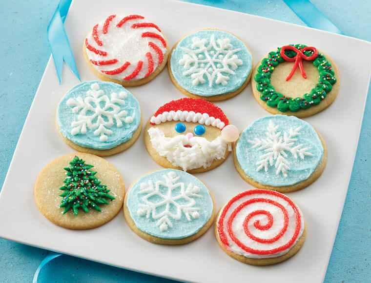 Receita de Bolacha de Natal Decoradas