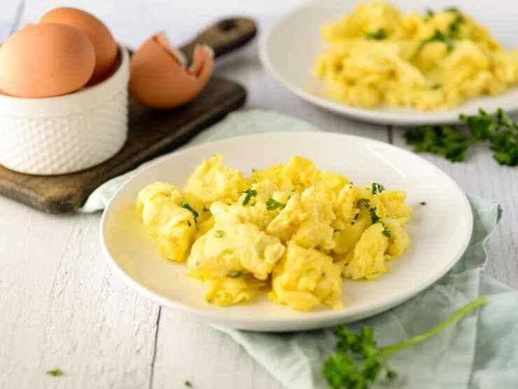 Receita de Ovos Mexidos Cremosos