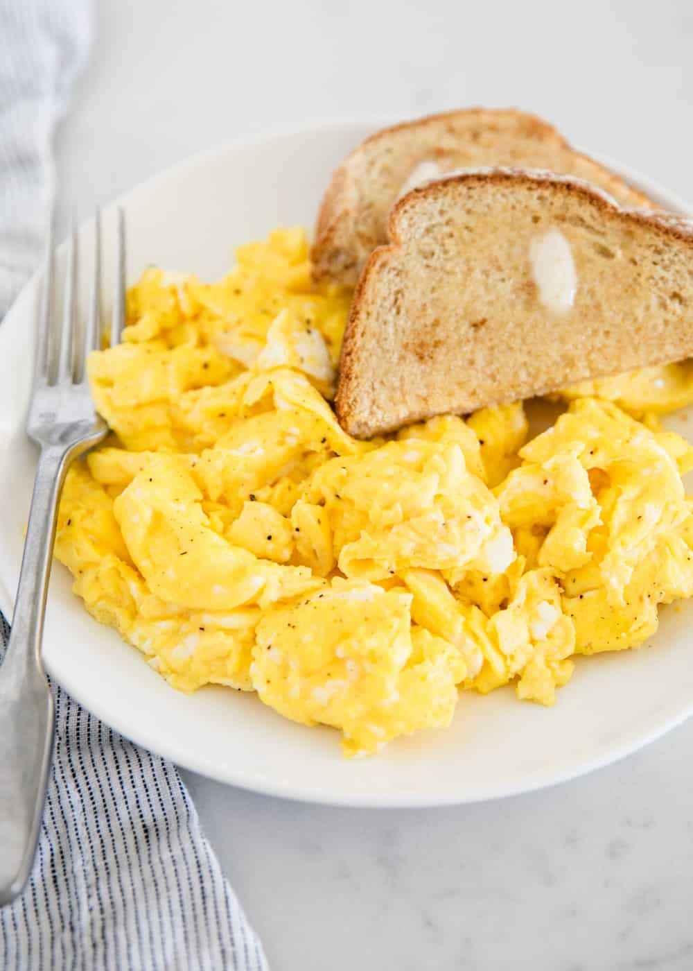 Receita de Ovos Mexidos Saudáveis