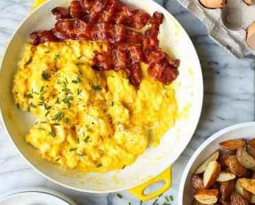 Receita de Ovos Mexidos com Azeite simples