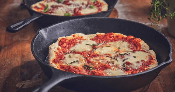 Receita de Pizza de Frigideira Ana Maria Braga