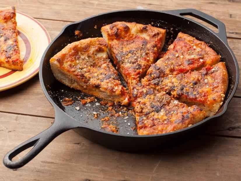 Receita de Pizza de Frigideira Da Vovô