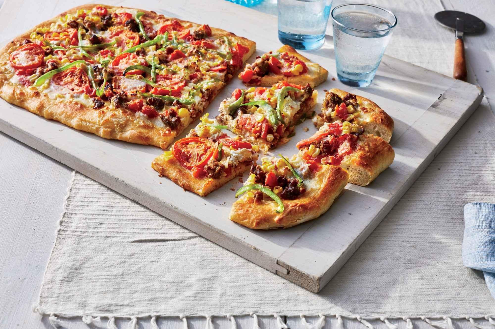 Receita de Pizza de Frigideira para Lanche Caseiro