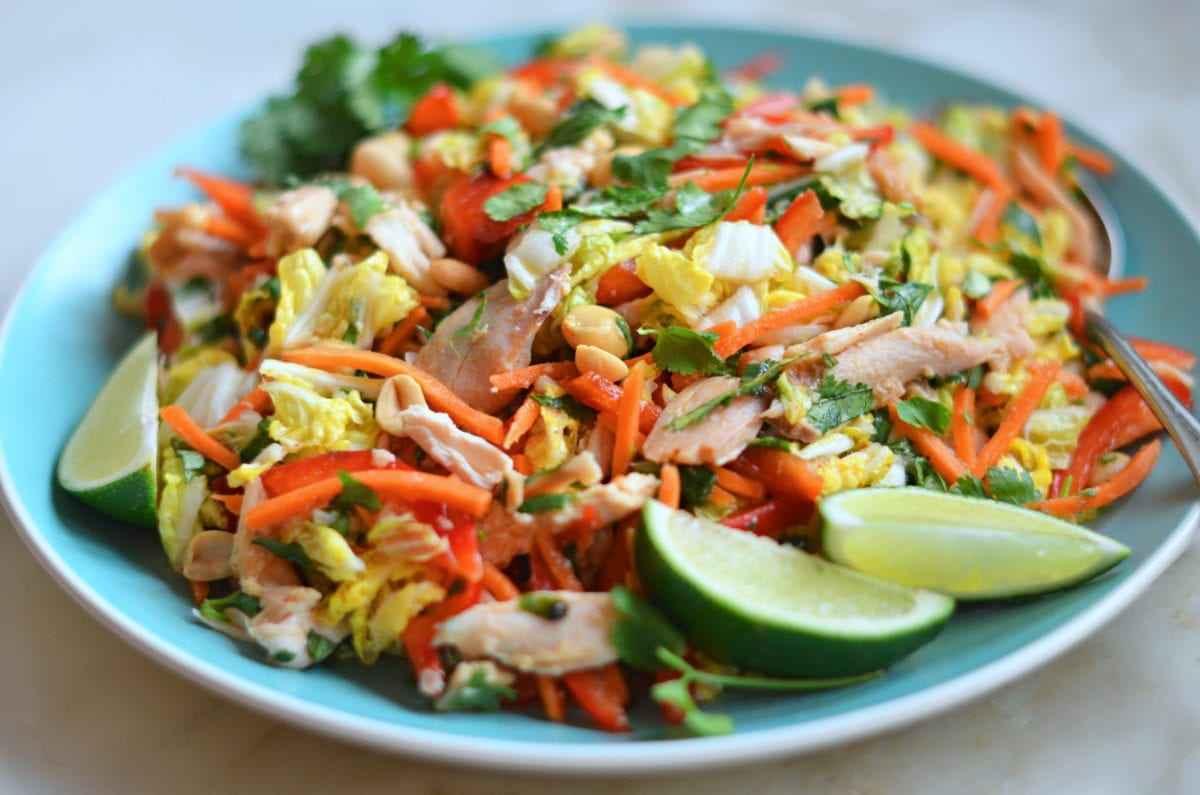 Receita de Salada de Frango Desfiado com Cenoura