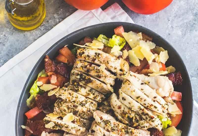 Receita de Salada de Frango Low Carb