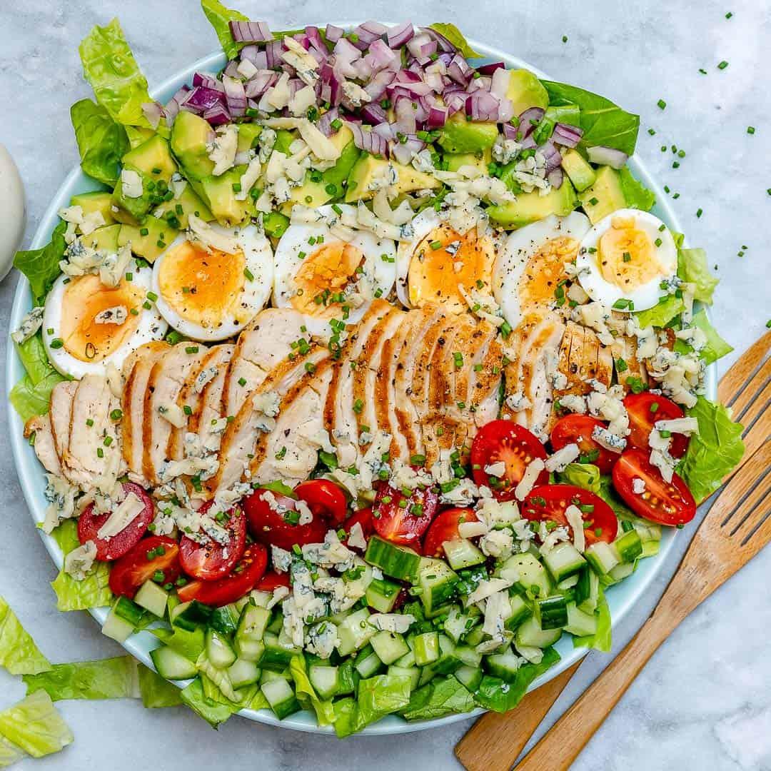 Receita de Salada de Frango Tropical