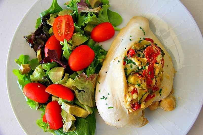 Receitas com Peito de Frango Salteado com Legumes
