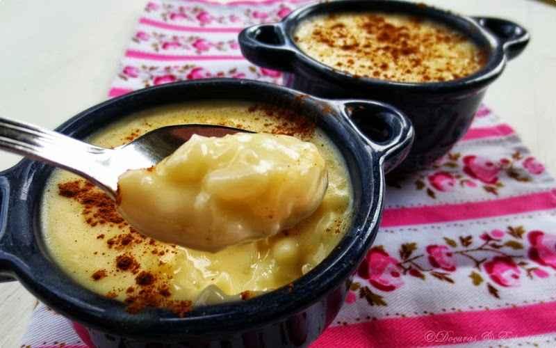Jantar Rápido e Fácil Tudo Gostoso de Arroz doce com leite Creme