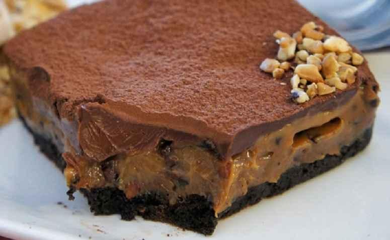 Receita de Doces fáceis de fazer com Torta Gelada de Chocolate