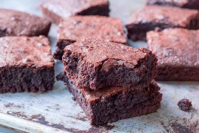 Receita de Brownie saudável
