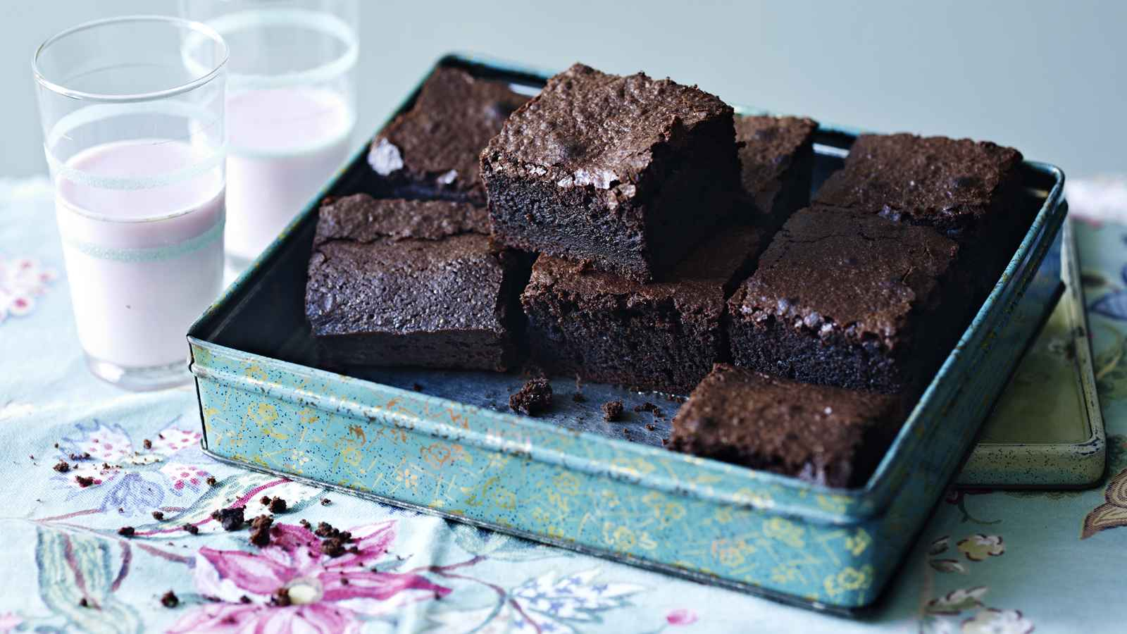 Receita de Brownie simples de Chocolate