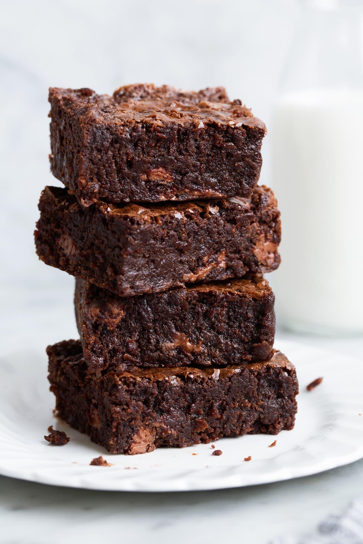 Receita de brownie Tradicional