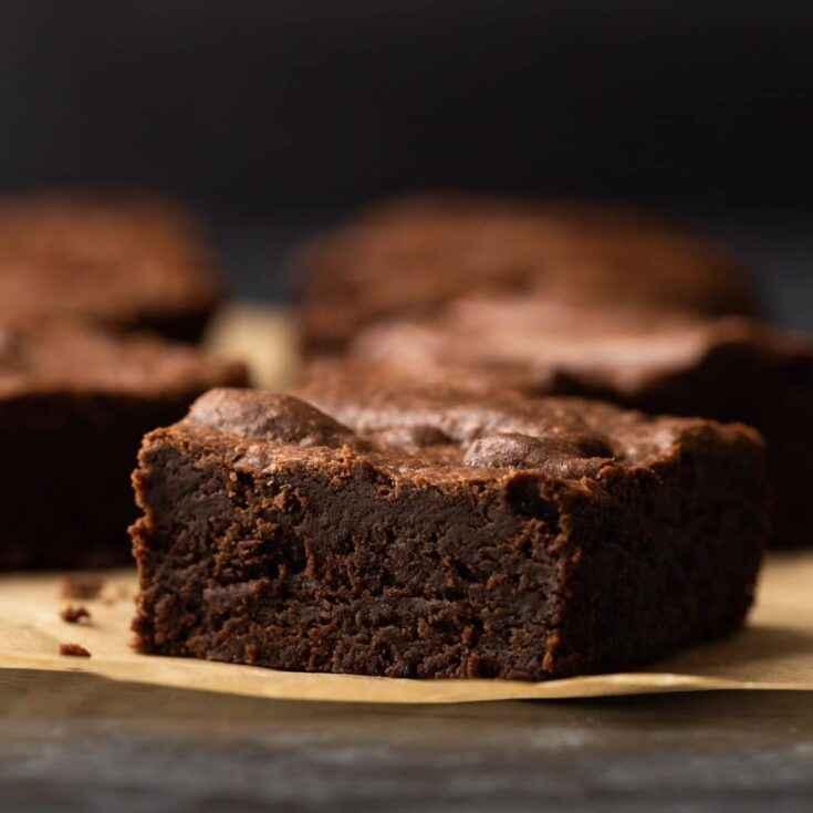 Receita de brownie da Vovô