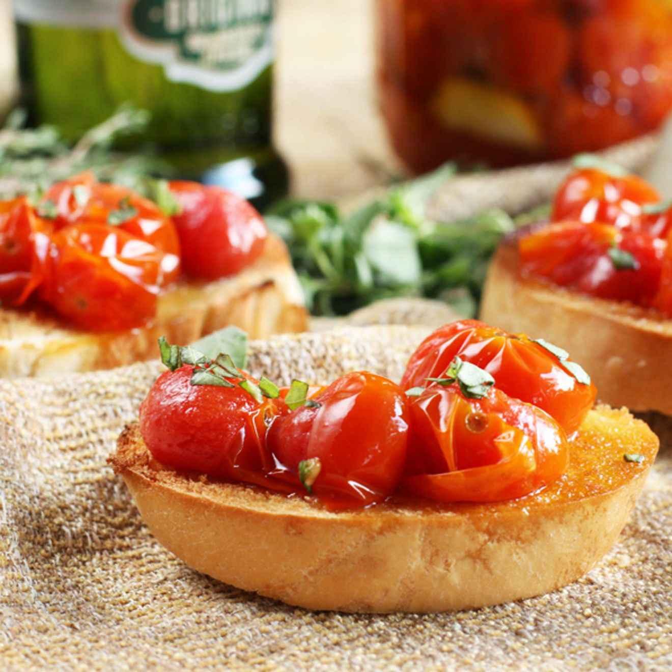 Receita de Tomate confit da Vovô