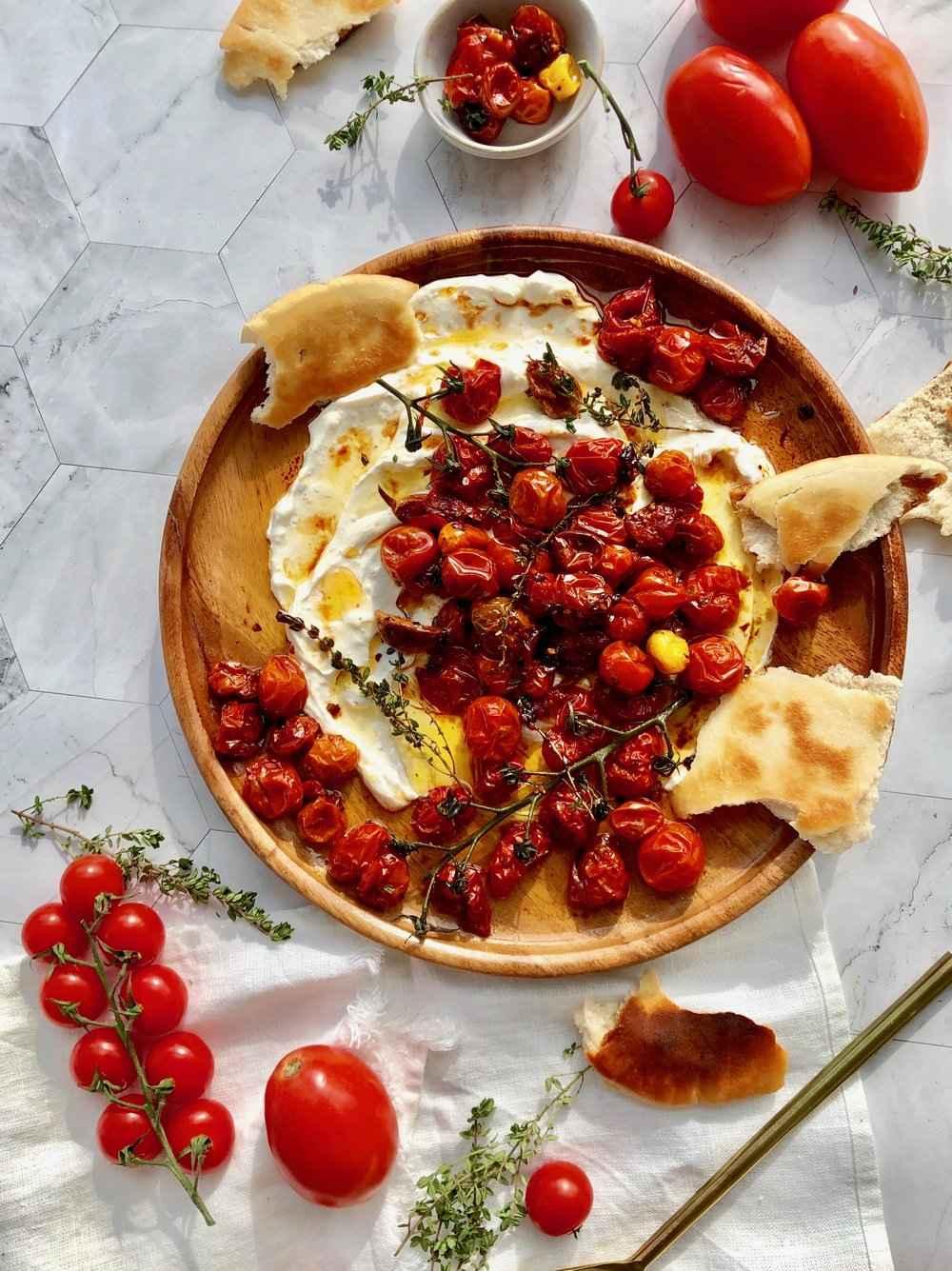 Receita de Tomate confit para Almoço saudável
