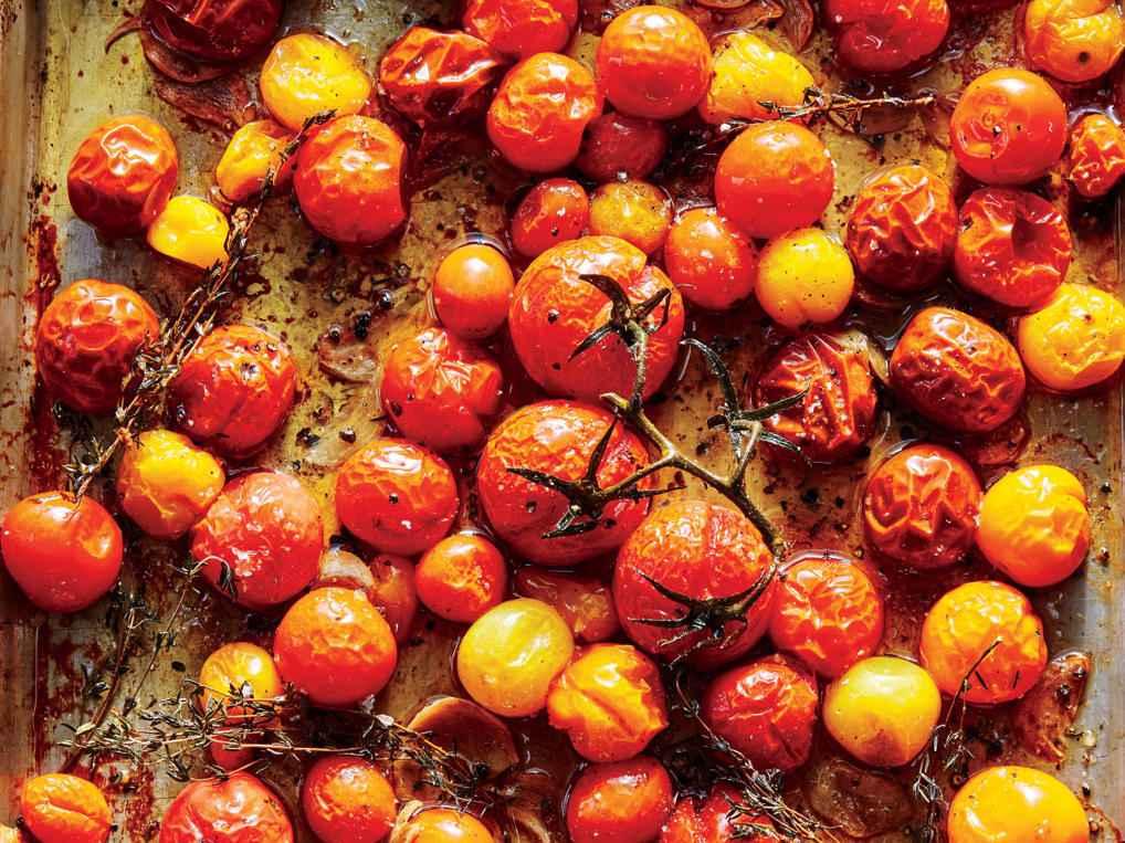Receita de Tomate confit saudável